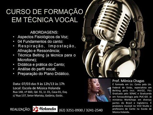 CURSO BELTING - MONICA